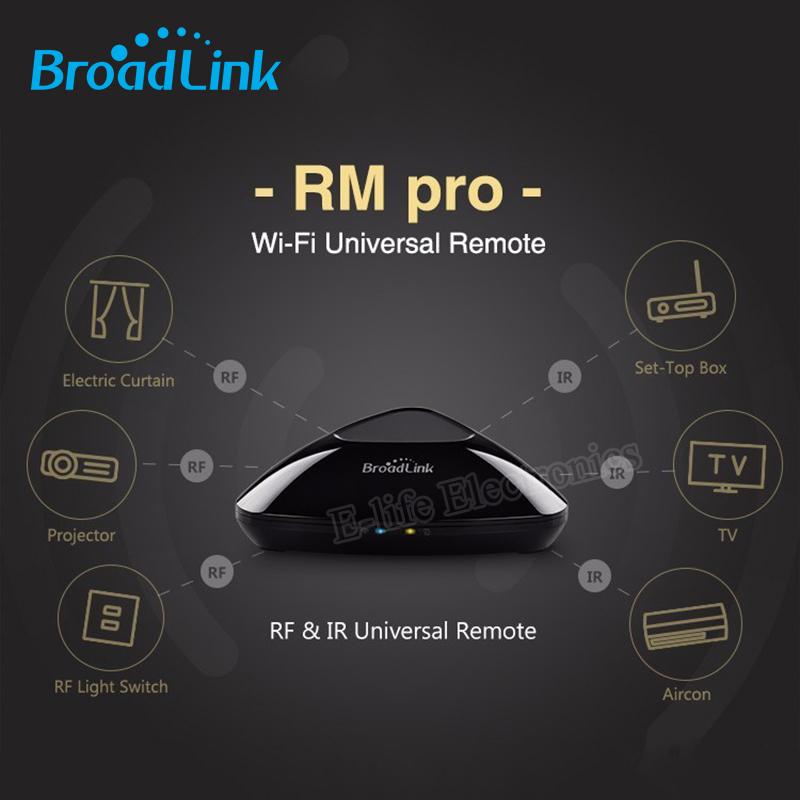 Original Broadlink RM2 RM PRO Universal Intelligent Remote Controller