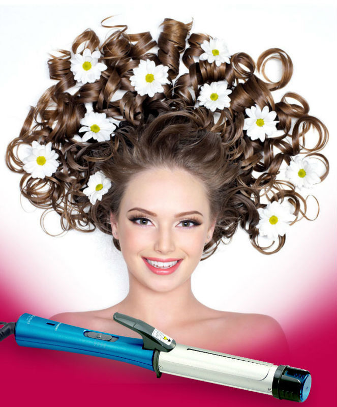 New Arrival Negative Ion Steam Electric Hair Curler(China (Mainland))