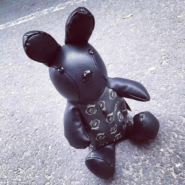 2016 уникальная личность кролик форма мода симпатичные мультфильм печатных мини рюкзак свободного покроя мешок школы 5 цвета
