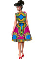 Women Dress Dashiki Summer Vestidos Print Cute Dresses African Fashion Ball Gown Customized Africa Dress for