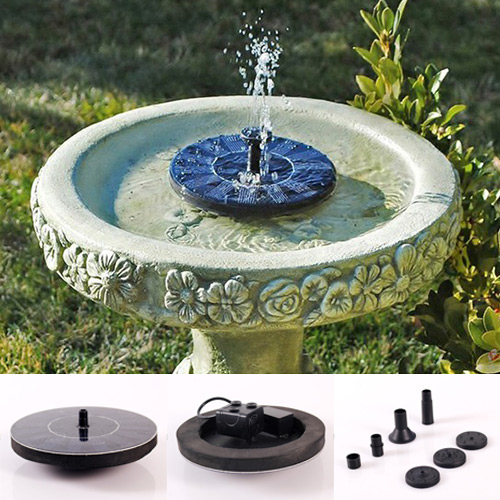 2016 New Solar Water Floating Pump Fountain Garden Pool Watering Solar Pump Kit Set Drop Shipping(China (Mainland))
