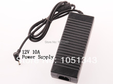 AC 100 240V to DC 12V 10A Power Supply Adapter Charger For LED Strips Light Free
