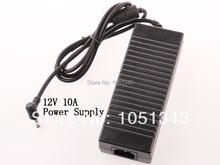 Ac 100 — 240 В в постоянный 12 В 10A адаптер питания зарядное устройство для из светодиодов полосы света бесплатная доставка поставщик фабрики