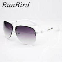 Buy 2017 Fashion Designer Metal Rimless Sunglasses Women Men Brand Driving Sun Glasses Top Gafas Oculos De Sol Feminino R045 for $5.97 in AliExpress store