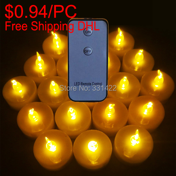 180pcs Birthday Ideas Party Favors For Kid Birthday Home Decorations Remote Candles Control Tea lights Sparking Velas Flameless