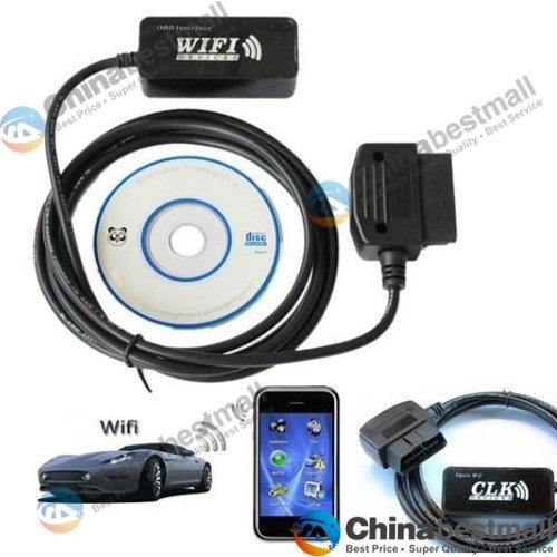 Оборудование для диагностики авто и мото 327 WIFI/ELM327 OBD2 iPhone/iPad/PC OBD2 WIFI