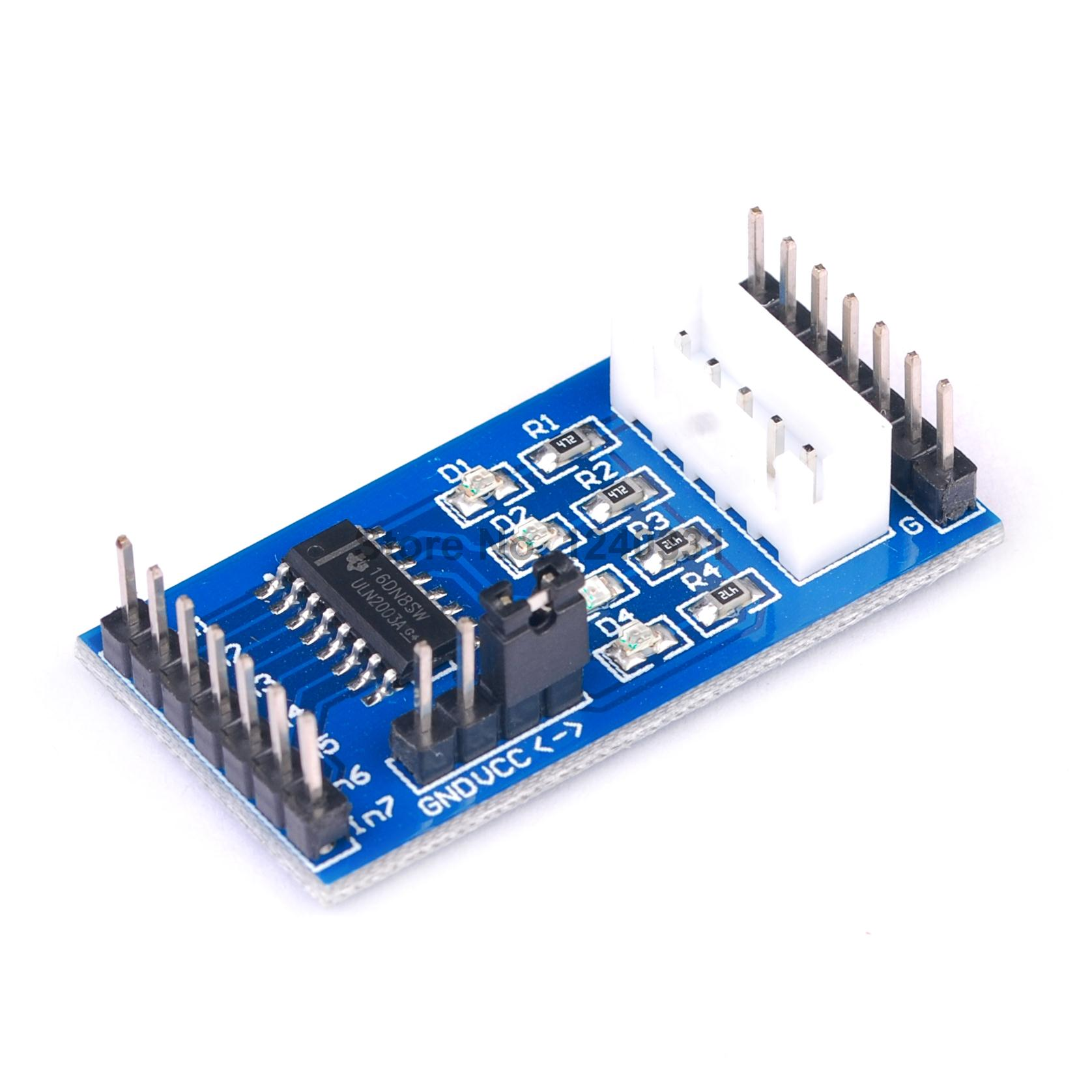 2PCS Stepper Motor Driver Board Module ULN2003 for 5V 4-phase 5 line 28BYJ-48 For Arduino(China (Mainland))