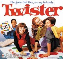 Body Twister Game Play Mat , Group Party Picnic Fun168*137CM, No Retail Box(China (Mainland))