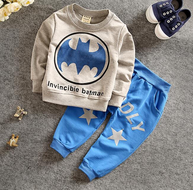 2016 spring autumn kids children baby boy set sport suits clothing set tracksuit toddler boy clothes cotton outfits for boy 2pcs(China (Mainland))