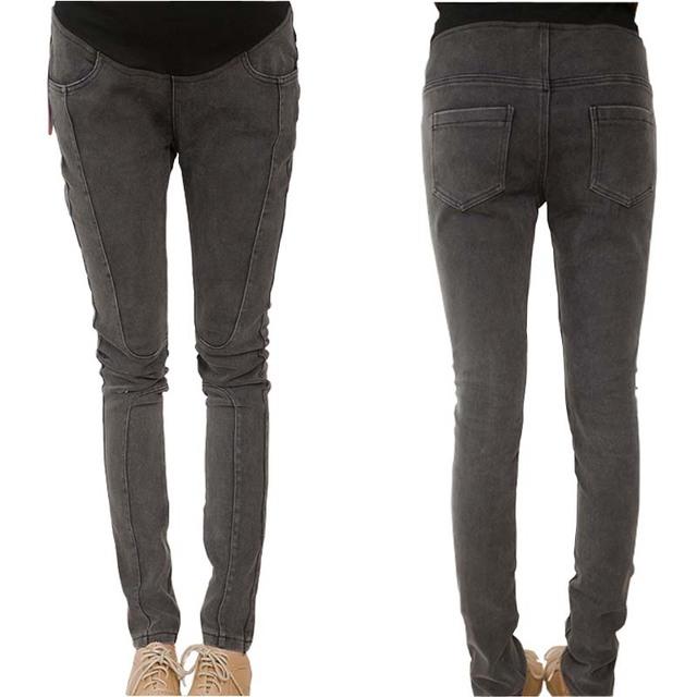2015 мода упругие беременных осень зима узкие брюки брюки беременных одежда джинсовые ...