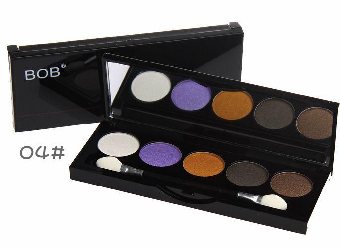 5 colors Eye Shadow Palette Fashion New Makeup Full Color Palette Eye Beauty Makeup Set Wet powder(China (Mainland))