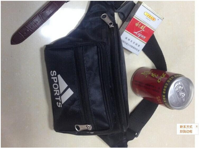 Free Shipping 2015 FASHION Unisex Waist Belt Bag Travel Sports Hiking Running Fanny Pack Sports men