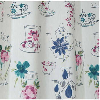 American style high quality cotton custom curtains living room bedroom semi shade linen finished curtain(China (Mainland))