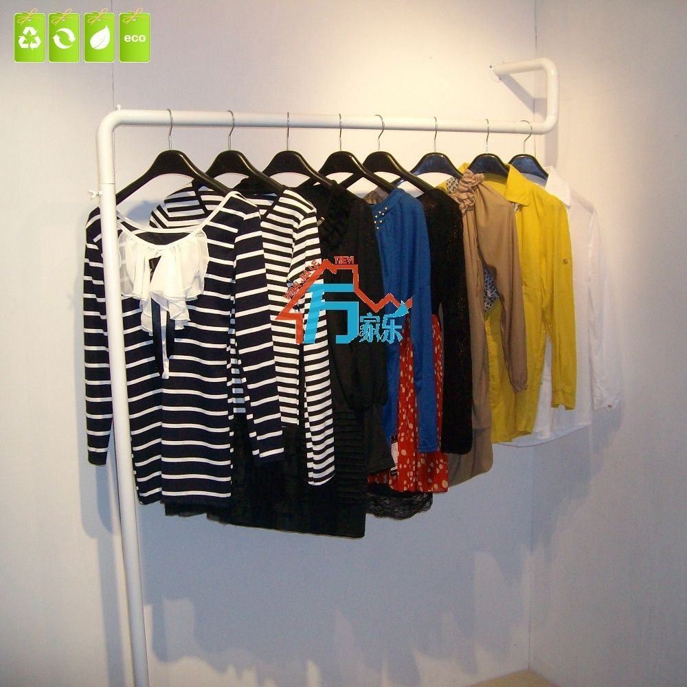 Clothing rack clothing store display shelf hangers wall floor wall-side hanging clothes rack combination<br><br>Aliexpress