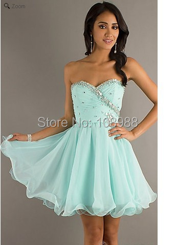 2016 designer dress charming sky blue dress! New style cocktail dress ! Unique Style online! Hottest !(China (Mainland))