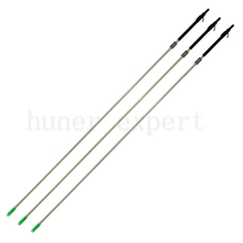 Outdoor bow fishing arrow with bowfishing arrow broadhead mix carbon shafts 6pcs and 1 pc bow