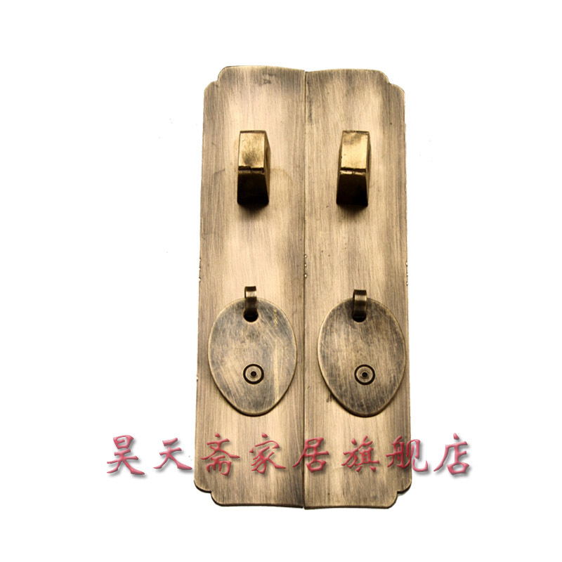 [Haotian vegetarian] coat Roof cabinet accessories / Ming and Qing antique furniture, brass fittings / Chinese decoration access<br><br>Aliexpress