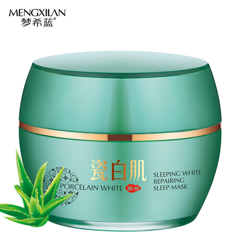 Herbal serum whitening sleep face mask face care Treatment skin care Face lifting Anti Winkles Aging Moisturizing Acne Pimples(China (Mainland))
