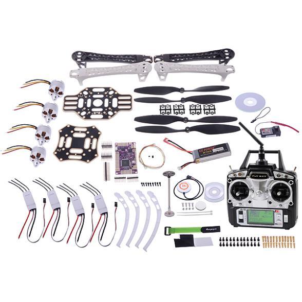 10 in 1 F450 RC Quadcopter Multirotor Frame Kit 4-axis Frame Kit w/ Landing Gear Skid Set Quadcopter  21733<br><br>Aliexpress