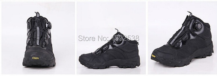 BALORO Quick Boots BOA Lacing System Light Damping Military Boots