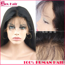Glueless full lace wigs Peruvian hair extension lace front wig virgin human hair for black women natural hairline stock grade 6A