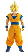2016 In stock Retail Dragon Ball Z Super Big Super Saiyan Son Gokou PVC Action Figure Collection Model Toy