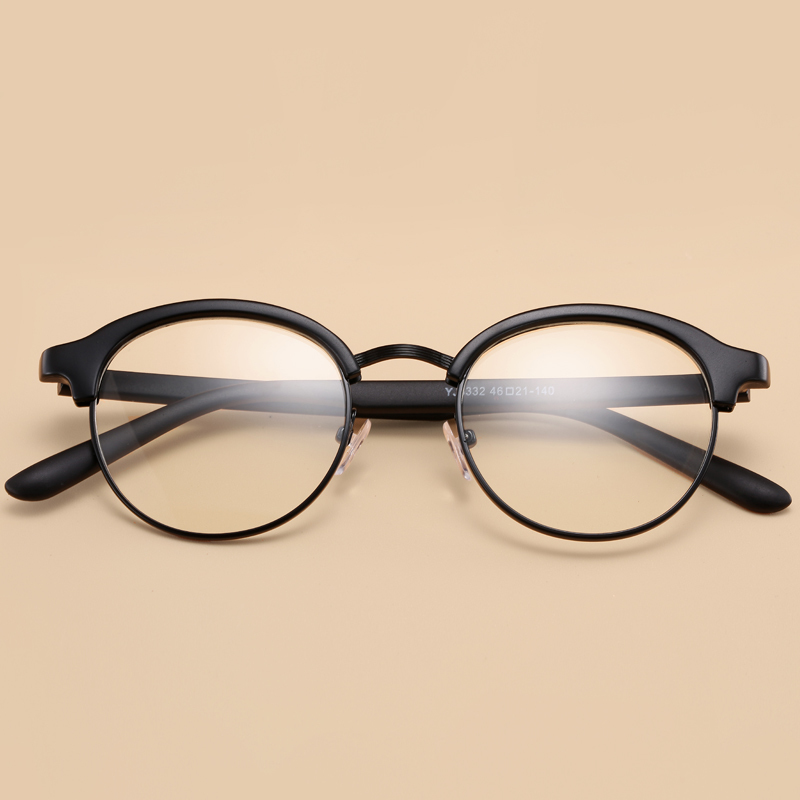 Kpop Glasses Frame : 2016 New Korean Fashion Vintage Round Frame TR90 ...