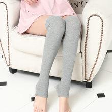 ผู้หญิงถักผ้าฝ้ายผสมยาวกว่าเข่าสูง Slim ขาต้นขาถุงน่องลำลอง Drop Shipping 2018 ใหม่แฟชั่น(China)