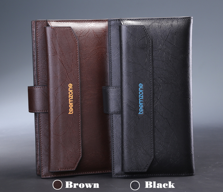 Leather Organizer For Men Mens Genuine New Leather