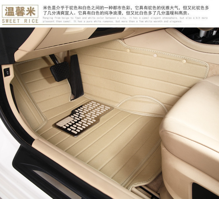 cars waterproof XPE material non slip full surrounded car floor mats for Kia Sorento 2013/14/15 fifty-seven 5/7 seat model year(China (Mainland))