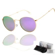 Люксовый бренд мужские женские поляризованные очки авиатор градиента линзы объектива очки очки вождения антибликовые солнцезащитные очки 3447
