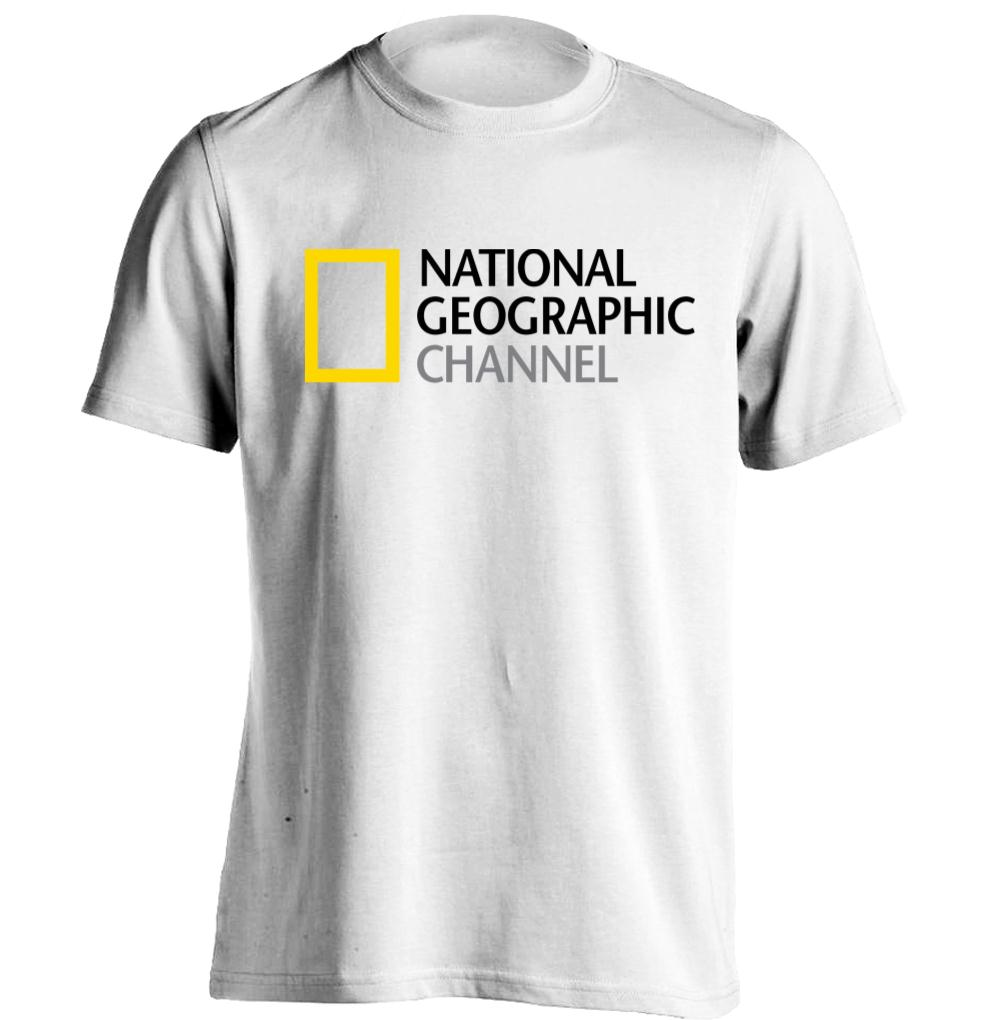 national geographic channel logo mens womens cool t. Black Bedroom Furniture Sets. Home Design Ideas