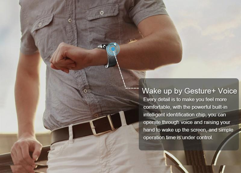 ถูก ใหม่1.54นิ้วi95บลูทูธ4.0 Androidสมาร์ทดูใหม่S Mart W AtchกับนหัวใจWiFiสำหรับS Amsung HTC Lgโทรศัพท์A Ndroid