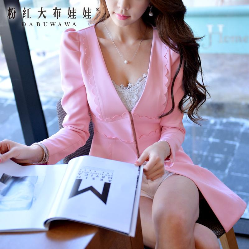 Поли ветровка розовая Кукла 2015 году новое весеннее пальто куртка корейская версия Женская мода