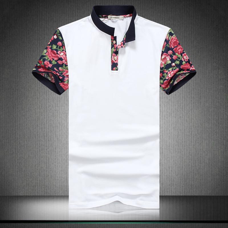 Мужская футболка 2015 & Trun T Slim fiT high/end футболка wearcraft premium slim fit printio avengers