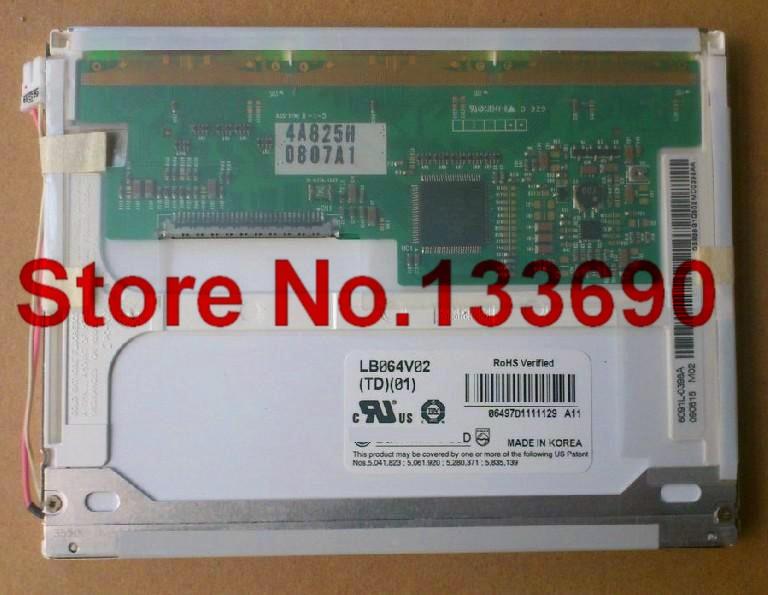 1pcs LB064V02(A1) LB064V02-A1 LB064V02-TD01 LB064V02 (TD)(01) Original 6.4 inch 640*480 VGA TFT LCD Panel Display,RoHS(China (Mainland))