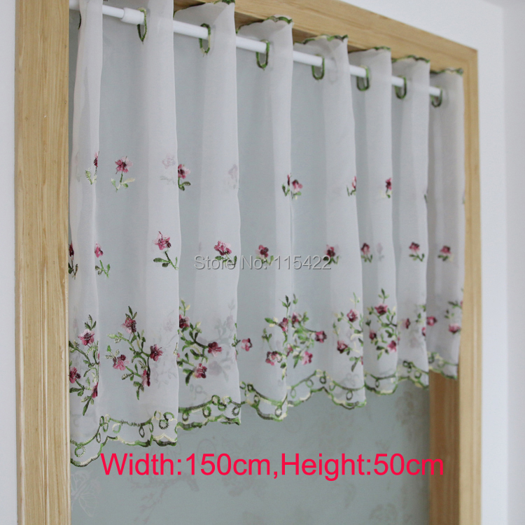 Achetez en gros petite salle de bains fen tre rideaux en - Rideau court fenetre ...