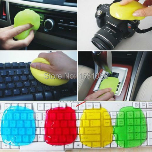 New Magic Dust Cleaning Compound Super Clean Slimy Gel Wiper For Keyboard Laptop Free Shipping & Drop Shipping(China (Mainland))