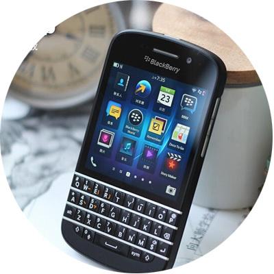 Q10 Original Blackberry Q10 Unlocked Mobile Phone 3G 4G Network 8.0MP Dual-core 1.5 GHz 2G RAM 16G ROM Refurbished(China (Mainland))