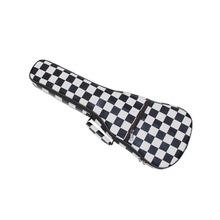 """Free Shipping 2015  Fashion Design 21""""Soprano  23"""" Concert Ukulele Case iridescent Ukulele Bags Small Guitar Cases Soft Gig Bags(China (Mainland))"""