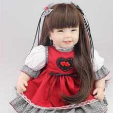 Buy Handmade Reborn Babies Dolls /Lifelike Baby Dolls Soft 55cm Silicone Reborn Baby Dolls Realistic Play Toy Kids