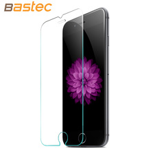 [2-Pack] Bastec HD Clear Protective Film 0.26mm 2.5D Curved Edge Tempered Glass Screen Protector for iPhone 6 6s Plus 5 5s SE(China (Mainland))