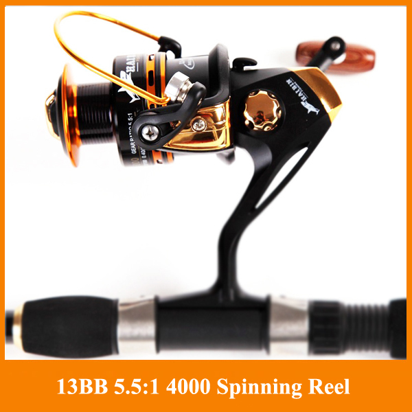HOT SALE!! Free shipping Spinning reel fishing reel YA2000-YA5000 13BB 5.5:1 spinning reel casting fishing reel lure tackle line(China (Mainland))