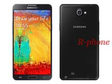 Original Samsung Galaxy Note 3 N9000 N9005 Unlocked Mobile Phone Quad Core 3GB RAM 5.7'13MP GPS Refurbished Andriod Phone(China (Mainland))