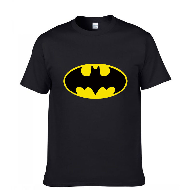 batman tshirt men short sleeve summer clothing mens t
