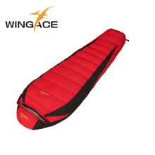 Buy Fill 400G 600G 800G 1000G Outdoor Camping Travel Hiking Sleeping Bag Portable mummy goose sleeping bag adult for $62.82 in AliExpress store