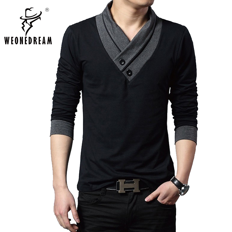 2016New Contrast Pullover Men VNeck Christmas Sweaters Men Long Sleeve Sweaters Shirts Casual Fashion Brand Knitwear Pull Homme(China (Mainland))
