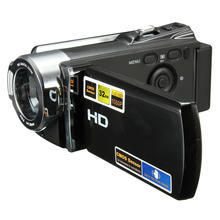 270 Rotation 1080P High-capacity Rechargeable Digital Video Recording Camcorder 16x Zoom Full HD CMOS DV Camera Free Shipping(China (Mainland))