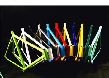 fixie Bicycle Fixed Gear Frameset 700c frame and fork single speed/track bike fixie bike(China (Mainland))