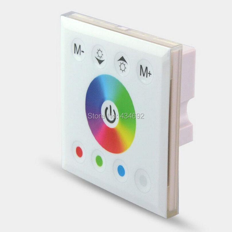 New 2014 LED RGBW Controller 12V RGB LED Touch Controller Full-color Controller RGBW Led Strip Wall Controller(China (Mainland))